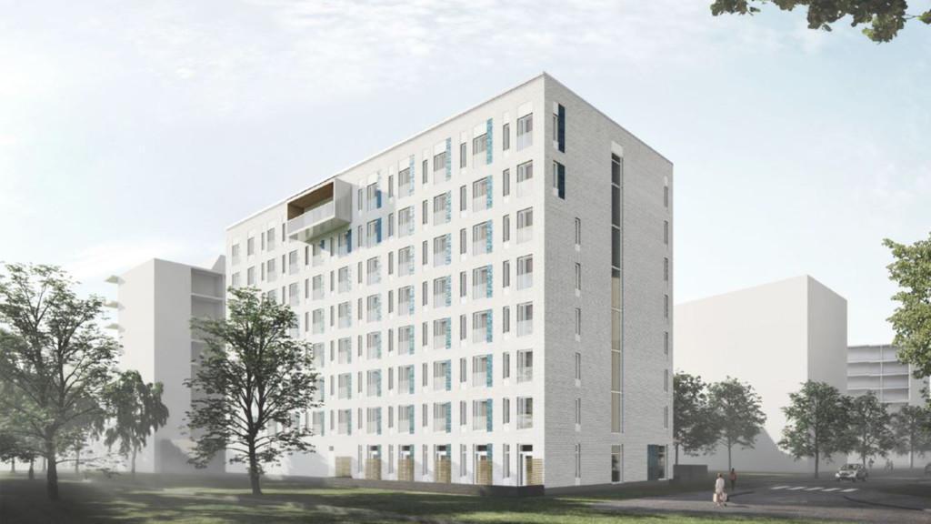 Rakennusliike Lapti rakentaa Hoasille 136 opiskelija-asuntoa Vermonniityn alueelle Espooseen