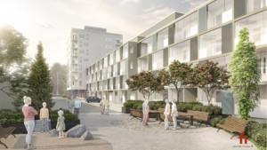 Lapti rakentaa eQ:n asuntorahastolle 83 uutta asuntoa Vantaan Koivuhakaan
